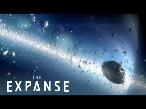 SyFy's The Expanse Trailer, The Expanse is an upcoming SyFy series about a detective transversing the solar system to solve the greatest conspiracy in human history.