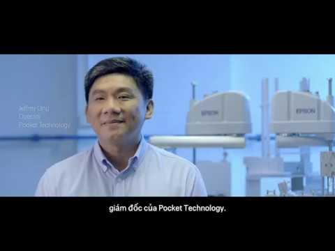 Epson Robots Customer Story: Pocket Technology (Vietnamese subs)