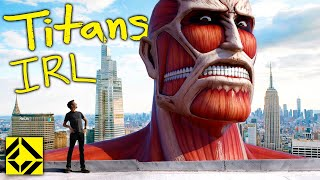 VFX Artist Reveals TRUE Scale of Attack on Titan!