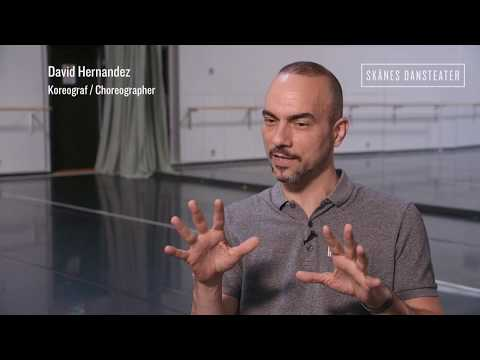Belonging - Skånes Dansteater - David Hernandez - rehearsals, interview
