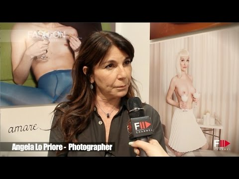 ANGELA LO PRIORE at MIA FAIR 2015 by Fashion Channel