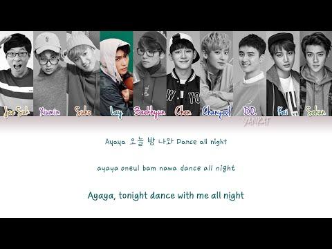 EXO & Yoo Jae Suk (유재석) – Dancing King (Color Coded Han|Rom|Eng Lyrics) | by Yankat