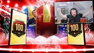 INSANE TOP 100 FUT CHAMPS REWARDS! - FIFA 19 Ultimate Team