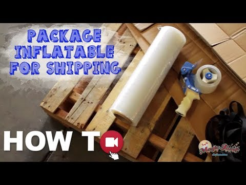 Package your Inflatable for Shipping: HOW TO | Magic Jump, Inc.
