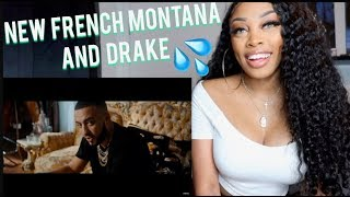REACTING TO French Montana - No Stylist ft. Drake video| Ashley Deshaun
