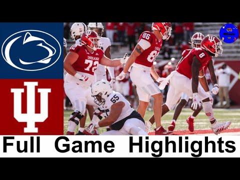 #8 Penn State vs Indiana Highlights (F/OT)   College Football Week 8   2020 College Football