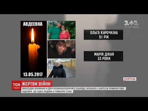 Діти стали свідками загибелі власних мам в результаті обстрілу Авдіївки