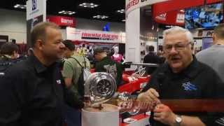Inside Drag Racing: Precision Turbo & Engine at 2014 PRI Show
