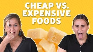 We Tried Cheap vs. Expensive Foods | TASTE TEST