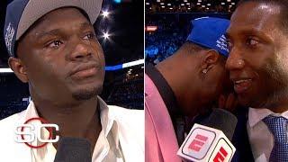 Zion, RJ Barrett and future NBA stars wear emotions on their sleeves on draft night | 2019 NBA draft