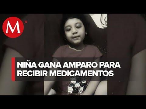 Niña de 7 años con leucemia gana amparo; tendrá medicina que dejó de recibir en marzo
