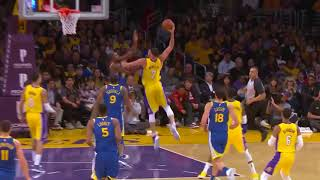 Lakers' Larry Nance Jr. Posterizes Kevin Durant With Monster Jam