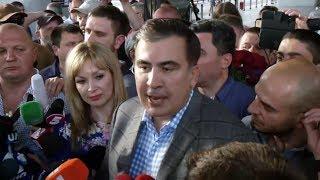 Саакашвили вернулся Украину