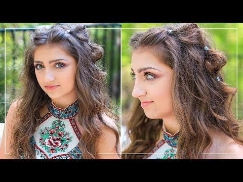 Kamri's Boho Bubble Braids | Prom Hairstyles 2018