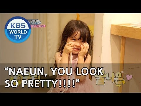 Naeun looks so pretty in her new dress! [The Return of Superman/2018.09.02]