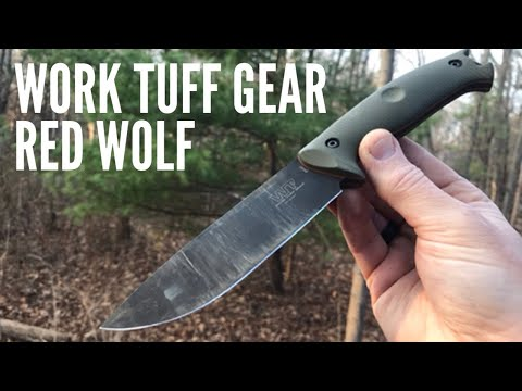 Work Tuff Gear Red Wolf Knife Review: Hunting, Outdoor, Camping Knife - Really Solid Performer