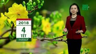 VTC14 | Thời tiết cuối ngày 23h 19/02/2018 | Thủ đô Hà Nội có mưa nhỏ vài nơi, sương mù sáng sớm