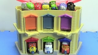 9+ Chuggington Trains in Portable Double Decker Roundhouse with Brewster