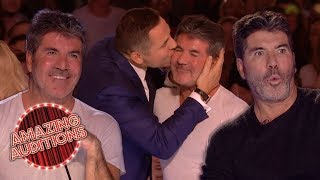 SIMON COWELL'S Best GOLDEN BUZZERS From Britain's Got Talent    Amazing Auditions