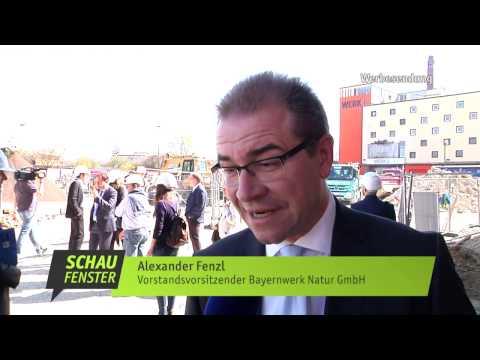 münchen.tv: Bayernwerk Natur stellt lokale Energielösungen im Werksviertel München vor