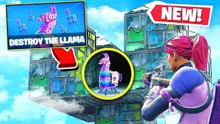 *NEW* CAN YOU DESTROY THIS LLAMA IN 5 MINUTES? - Playground Mode Game!