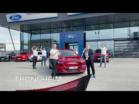 Mustang Mach-E is the most sold vehicle in Norway in May| Ford Norge