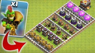 "GOBLINS VS. ENTIRE BASE!! ""Clash Of Clans"" TROLL ATTACK!!"