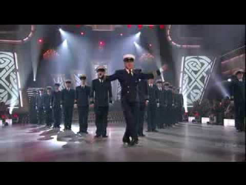 Michael Flatley on Dancing with the Stars.