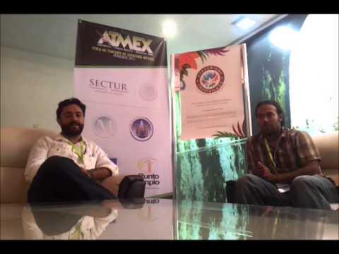 Entrevista ATMEX 2013 Reserva Sian Ka'an La Mano del Mono