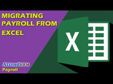 Migrating payroll from Excel to AttendHRM in minutes!