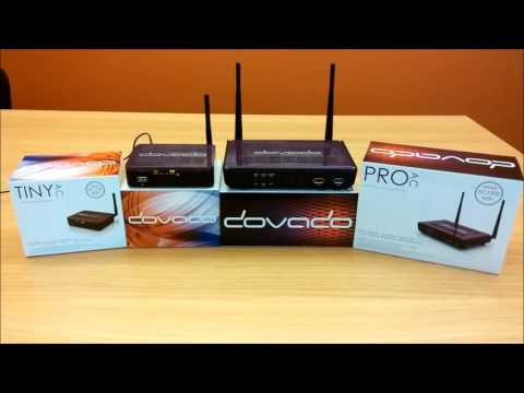 DOVADO Remote Control App quickly connects router to another WiFi network!