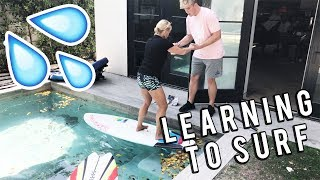 LEARNING TO SURF WITH TEAM 10