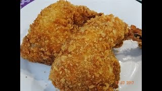 HƯỚNG DẪN làm GÀ CHIÊN GIÒN KFC - Gà rán KFC - How to make KFC Chicken by Vanh Khuyen
