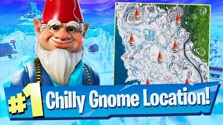Search Chilly Gnomes Locations - Fortnite Season 7 Week 6 Challenge Guide