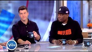 "Colin Jost & Michael Che (Weekend Update) - TRUMP Like ""Drunk Dad"" (The View)"