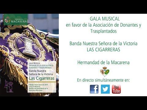 Gala Musical en favor de la Asociación de Donantes y Trasplantados por la Banda de las Cigarreras