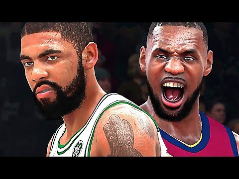 NBA 2K18 Gameplay (LeBron VS Irving) - YouTube