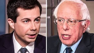 Pete Buttigieg Takes Another Cheap Shot At Bernie Sanders