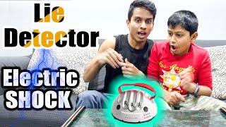 ELECTRIC SHOCK ⚡ - LIE DETECTOR⁉️ | VelBros Tamil