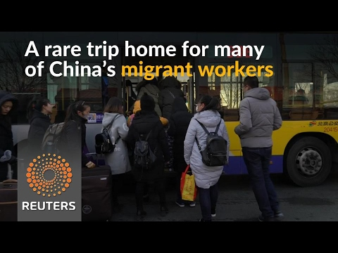As Lunar New Year looms in China, not everyone is going home