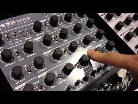 MATRIXSYNTH NAMM 2013: Studio Electronics at the Noisebug Booth