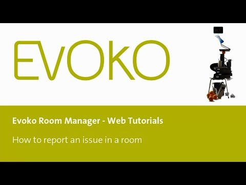 How to report an issue on your Evoko Room Manager