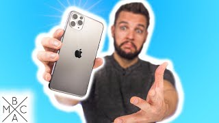 iPhone 11 Pro Max UNBOXING & HANDS-ON!
