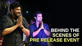 Our Behind The Scenes of Rangasthalam Pre release Event in Vizag| Ram Charan