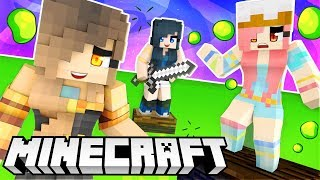 The most intense game ever... Minecraft Flood Escape!