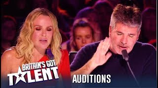 Simon Cowell STORMS OFF After Heated Argument With Amanda! | Britain's Got Talent 2019