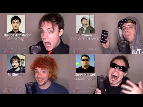 ONE GUY, 23 VOICES (Tyler Joseph, Ed Sheeran, Freddie Mercury, Famous Singer Impressions)