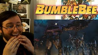 """Gors """"Bumblebee (2018)"""" New Official Trailer REACTION (Cena v Bumblebee!)"""