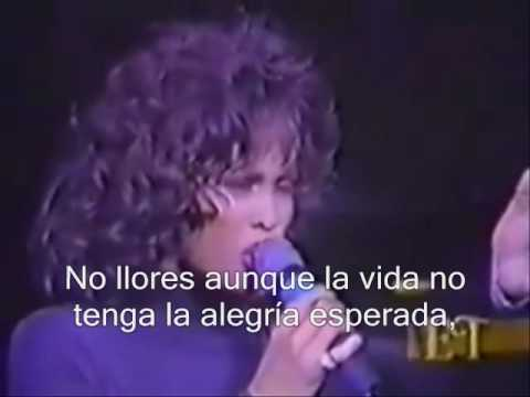 Whitney Houston Don't cry for me (subtitulado).wmv