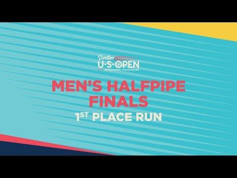 2019 Burton U·S·Open Men?s Halfpipe Finals ? 1st Place Run